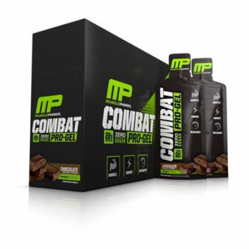 MusclePharm Combat Pro-Gel, Chocolate, 12 Packets