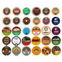 Decaf Coffee Single Serve cups For Keurig K Cup Brewer Variety Pack Sampler, 30 count