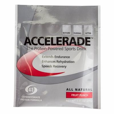 Pacific Health Accelerade Drink Mix Fruit Punch Sgl Serving Box of 6