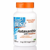 Astaxanthin with AstaPure� 3 mg - 180 Veggie Softgels by Doctor's Best