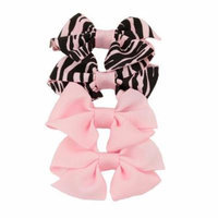 Greatlookz Wild Girl Grosgrain Bow Set