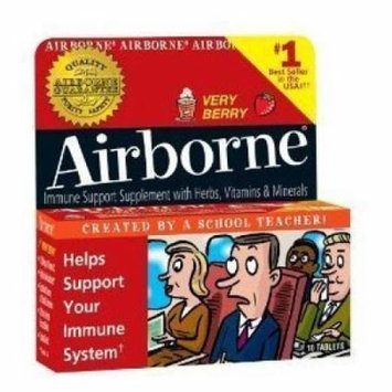 Airborne Immune Support Tablets - 36 ct. - Very Berry
