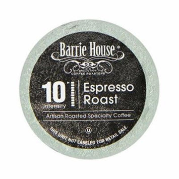Barrie House Espresso Roast Coffee Single Cup Capsules, 48 Count