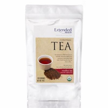 Organic Rooibos Tea (Caffeine-Free) - 120 Servings (8 oz) by Extended Health