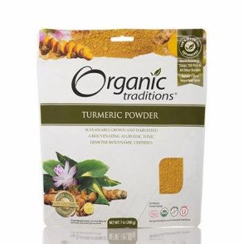 Turmeric Powder - 7 oz (200 Grams) by Organic Traditions