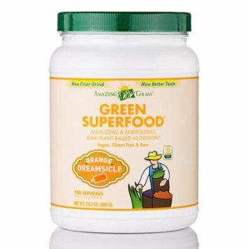 Green SuperFood� Orange Dreamsicle Powder - 100 Servings (28.2 oz / 800 Grams) b