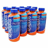 New Whey - Nuaquos Protein Sports Drink Orange - 12 Bottle(s)