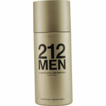 212 Deodorant Spray 5 Oz By Carolina Herrera