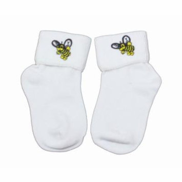 Greatlookz Bumblebee Bobby Socks Perfect for the Buzzy Kid in Infant Girls Sizes
