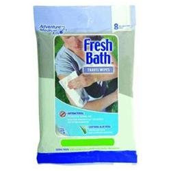 Adventure Medical Kits Travel Size Fresh Bath Wipes: 8-Pack
