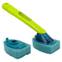 Casabella Soap Dispensing Sponge Brush with Refill - Pack of 2