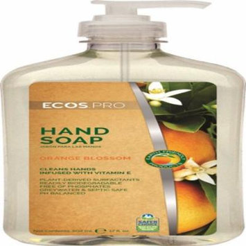 Earth Friendly Products PL9484/6 Liquid Hand Soap, Orange Blossom, 17-oz.
