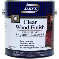 Deft Interior Lacquer, Clear Wood Finish