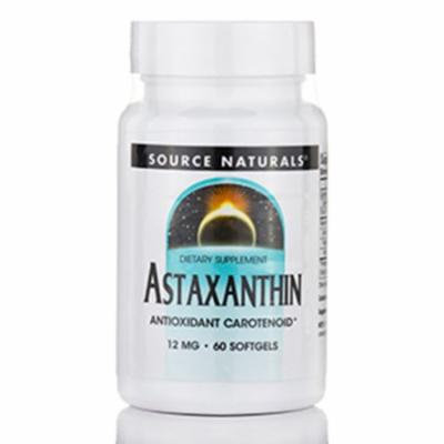 Astaxanthin 12 mg - 60 Softgels by Source Naturals