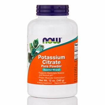 Potassium Citrate Pure Powder - 12 oz (340 Grams) by NOW