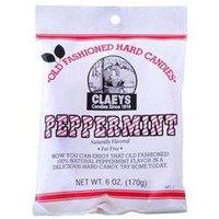 DDI 1755631 Claeys Peppermint Hard Candy - Peg Bag