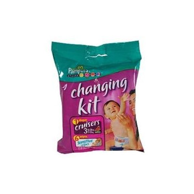 Pampers Cruisers Changing Kit - Size 3(Case of 20)