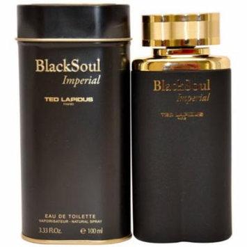 Ted Lapidus Black Soul Imperial for Men Eau de Toilette Spray, 3.33 oz