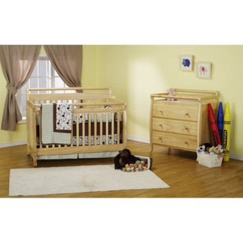 DaVinci Emily 4 in 1 Crib Natural with Toddler Rail