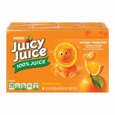 Wrigleys Juicy Juice Orange Tangerine Juice , 54 FL OZ (Pack of 4)