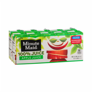 Minute Maid 100% Apple Juice, 10 CT (Pack of 4)
