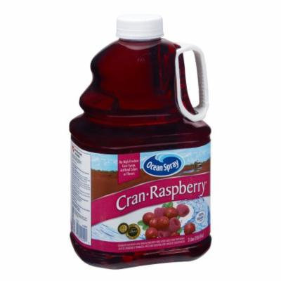 Ocean Spray 100% Juice Cran raspberry Pomegranate Flavor, 3 LT (Pack of 6)
