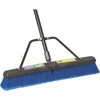 PUSH BROOM W/BRACE 24IN MEDIUM