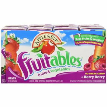 Apple & Eve Berry Berry Fruitables Juice, 54 FL OZ (Pack of 5)