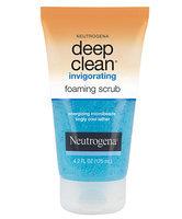 Neutrogena Deep Clean Invigorating Foaming Scrub