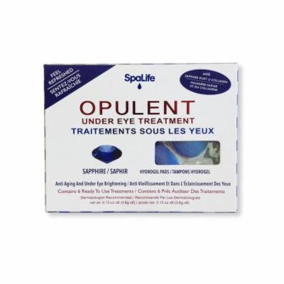 Spa Life Opilent Sapphire Under Eye Treatments - 6 Treatments