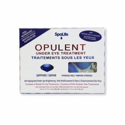 Spa Life Opilent Sapphire Under Eye Treatments - 6 Treatments