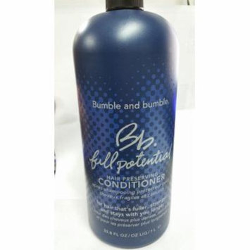 Bumble and Bumble Full potential Hair Preserving Conditioner 33.8 FL Oz