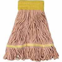 Boardwalk Small Orange Super Loop Head Cotton/Synthetic Fiber Mop Head
