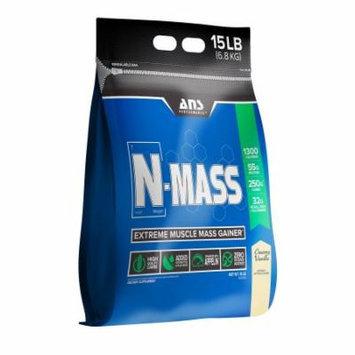 ANS Performance N-Mass Muscle Mass Gainer, Creamy Vanilla, 15 Pounds