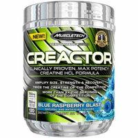 MuscleTech Creactor, Blue Raspberry Blast, 120 servings