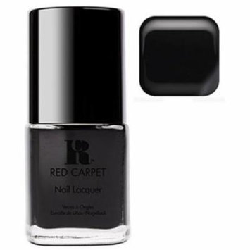 Red Carpet Manicure Black Strech Limo Nail Polish Lacquer Bottle - 15mL .3fl Oz
