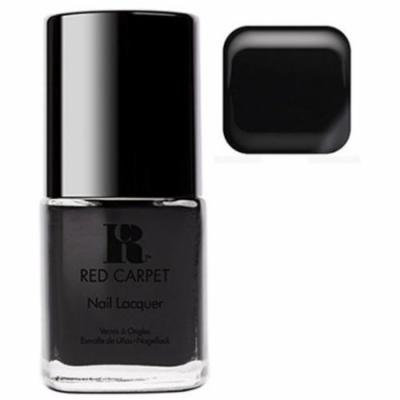 Red Carpet Manicure Black Strech Limo Nail Polish Lacquer Bottle - 15mL .3fl Oz