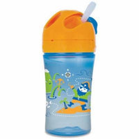 Gerber Graduates Advance Easy Straw Cup With Seal Zone Technology, Pirate Design