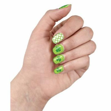 Shamrock Nail Art Stickers, St Patrick's Day Party Wear, 2 Styles (20pcs)