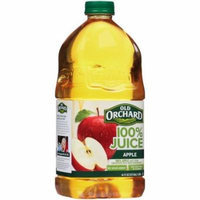 Old Orchard 100% Juice 100% Apple Juice, 96 OZ (Pack of 6)