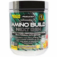 MuscleTech Amino Build, White Raspberry, 30 servings