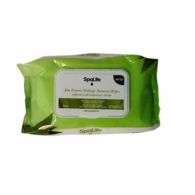 Spa Life Aloe Essence Makeup Remover Wipes Infused With Vitamins And Herbs
