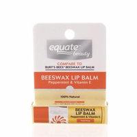 Equate Beauty Peppermint & Vitamin E Beeswax Lip Balm
