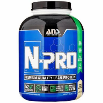 ANS Performance N-Pro, Creamy Vanilla, 4 Pounds