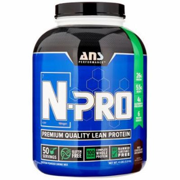 ANS Performance N-Pro, Milk Chocolate, 4 Pounds