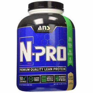 ANS Performance N-Pro, Cookies and Cream, 4 Pounds