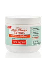 Neutrogena Oil-Free Acne Stress Control® Night Cleansing Pads