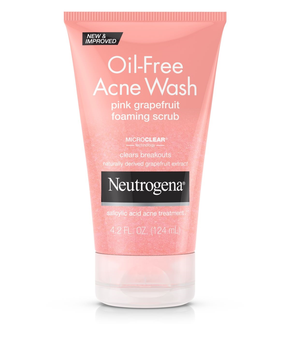 Neutrogena® Oil-Free Acne Wash Pink Grapefruit Foaming Scrub