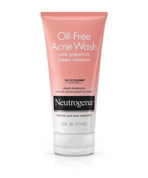 Neutrogena® Oil-Free Acne Wash Pink Grapefruit Cream Cleanser