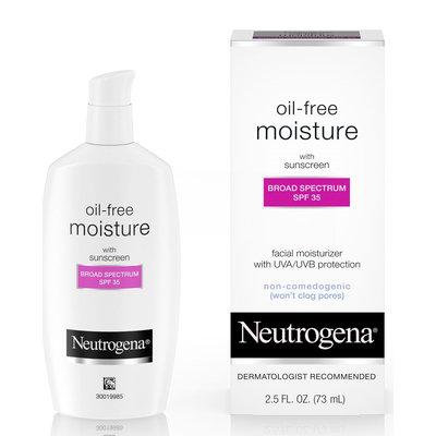 Neutrogena® Oil-Free Moisture Broad Spectrum SPF 35